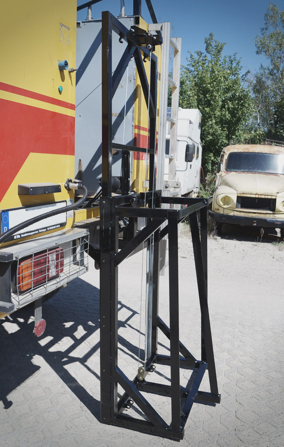 Reserveradhalter Reserveradträger Offroad Wohnmobil LKW Expeditionsfahrzeug