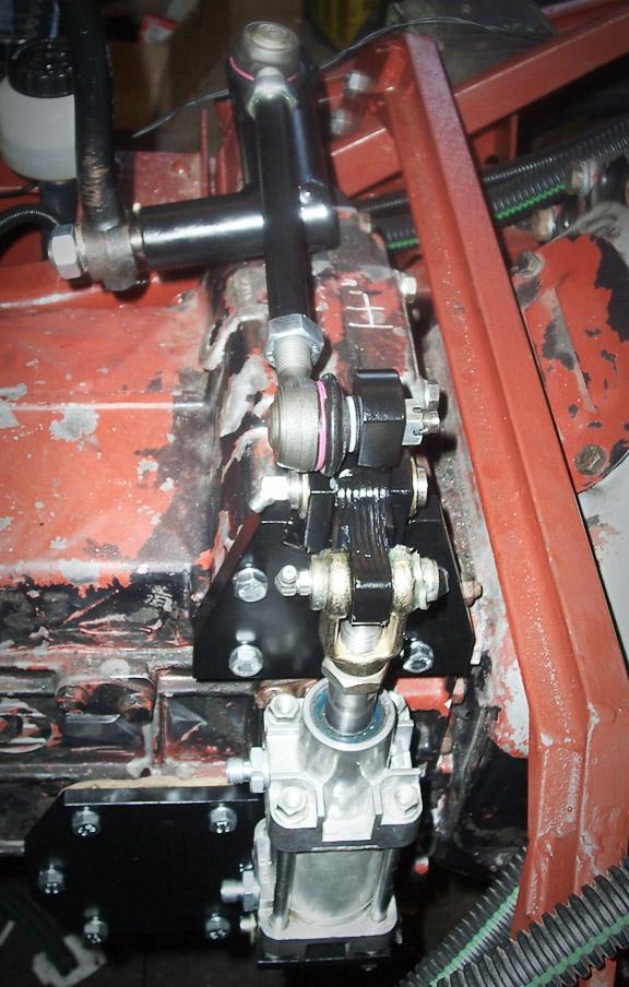 Hanomag - Umbau Motor und Getriebe - TRIALSPORTS