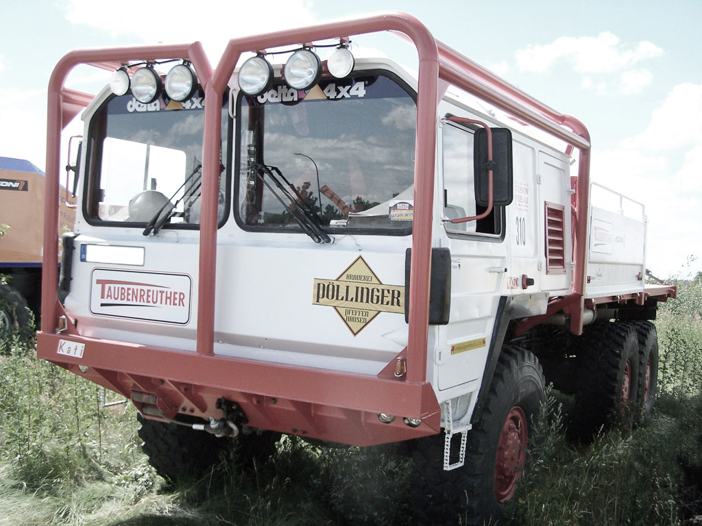 MAN KAT 1 - Rallye Umbau
